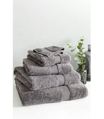 the white company luxury egyptian cotton bath towel, size one size - grey