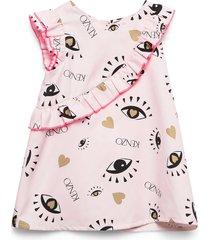 jelise jurk roze kenzo