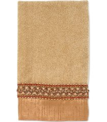 "avanti ""braided cuff"" fingertip towel, 11x18"" bedding"