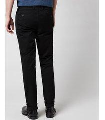 polo ralph lauren men's stretch slim fit chino trousers - polo black - w38/l32