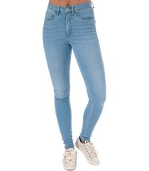 only womens royal high skinny jeans size 6-8r in blue