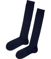 calze lunghe in cotone elasticizzato