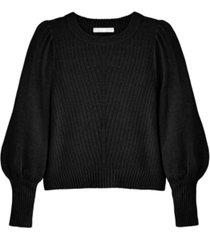 adyson parker women's crew neck blouson sleeve sweater
