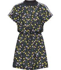 aop tee dress knälång klänning multi/mönstrad adidas originals