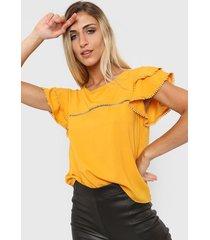 blusa amarilla nano pia