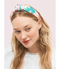 kate spade new york painted petals silk headband