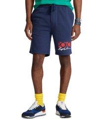 polo ralph lauren men's 8-inch logo fleece shorts