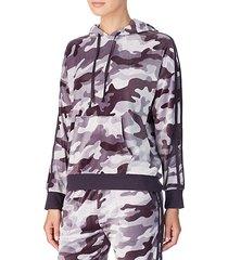 long-sleeve camouflage hoodie