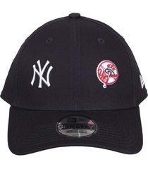 boné kings sneakers new era baseball new york yankees marinho - único
