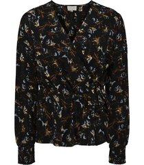 jessica wrap blouse