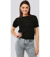 na-kd trend t-shirt - black