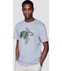 t-shirt i bomull - ljusgrå