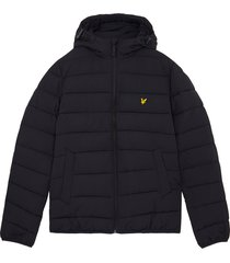 lyle and scott jk1546v lyle&scott lightweight puffer jacket, z271 dark navy