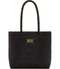 converse bolso tote lodge quilted black