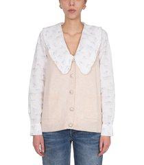 ganni cashmere vest