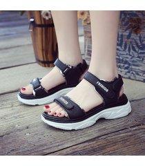 moda mujer sandalias para 2019 comodidad transpirable zapatos sandalia de señoras de compras