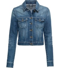 giacca di jeans con pizzo (blu) - rainbow