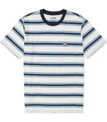 billabong men's striped logo t-shirt