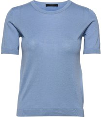 cairo t-shirts & tops knitted t-shirts/tops blauw weekend max mara