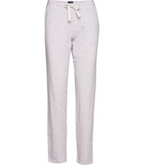 long pants pyjamasbyxor mjukisbyxor grå schiesser