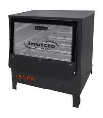 forno industrial de mesa invicto fogões baixa pressão 80l grafite