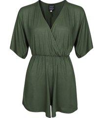 things i like things i love jumpsuit & playsuit groen kimono