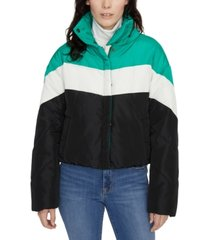 sanctuary ski club puffer coat