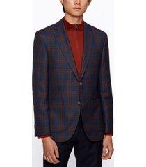 boss men's janson8 regular-fit virgin-wool jacket