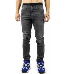 skinny jeans dc shoes worker medium grey slim fit jeans