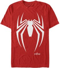 marvel men's spider-man gamerverse spider-man logo short sleeve t-shirt