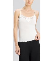 aspire camisole top, women's, white, size xl, josie natori