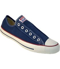zapatilla azul converse slip