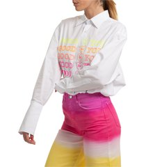 camicia donna maniche lunghe goodfy