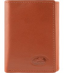mancini manchester collection men's rfid secure trifold wallet