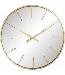 zegar lustrzany gold 60 cm