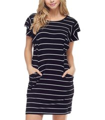 fever women's stripe dress