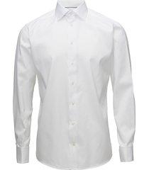 signature twill-slim fit skjorta business vit eton