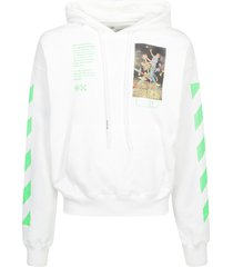 off-white off-white painting hoodie