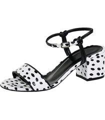 sandaletter wenz vit::svart