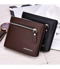 billetera super- monedero de los hombres billetera-marrón