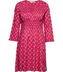 calling for dress korte jurk roze odd molly