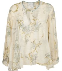 forte forte voile floral shirt