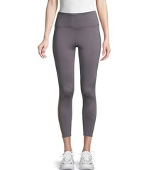 high-waist cropped leggings