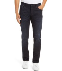 mavi jeans marcus slim straight leg jeans, size 44 x 34 in deep ink organic move at nordstrom