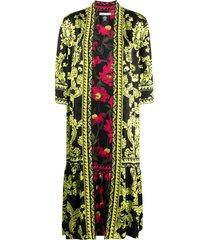 alice+olivia dottie reversible kimono - black