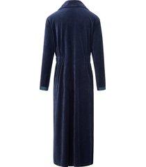 nicky-ochtendjas in lang model van féraud blauw