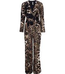 animal print jumpsuit