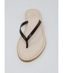 n.y.l.a premium carmel thong sandal women's shoes