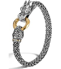 women's john hardy legends naga 6mm station bracelet