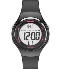 relógio mormaii digital acqua wave feminino